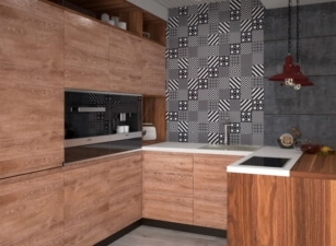кухня лофт 026а
