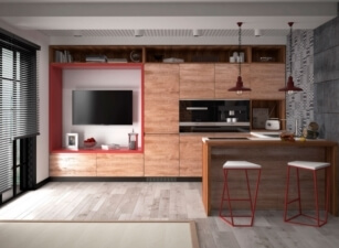 кухня лофт 028а