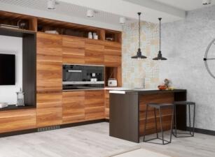кухня лофт 029а