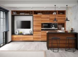 кухня лофт 030а
