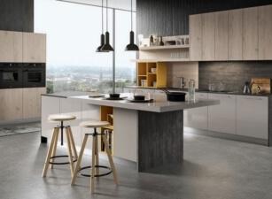 кухня лофт 041а