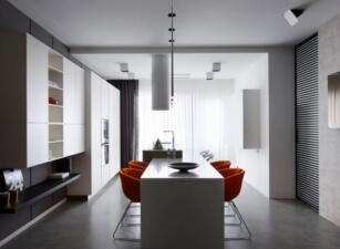 кухня лофт 054а