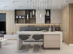 кухня лофт 060а