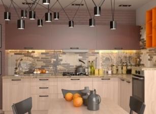 кухня лофт 076а