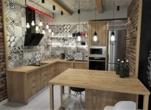 кухня лофт 078а
