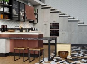 кухня лофт 079а