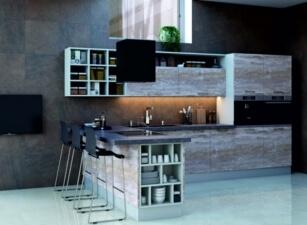 кухня лофт 081а