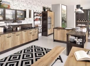кухня лофт 087а