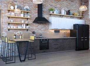 кухня лофт 097а