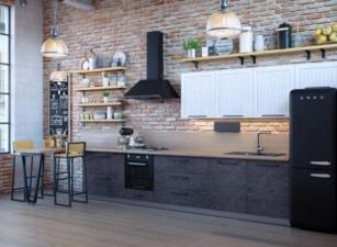 кухня лофт 098а