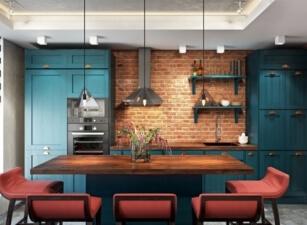 кухня лофт 100а