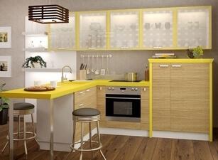 современная кухня 035а