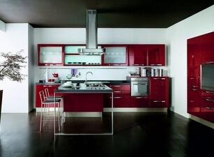 современная кухня 036а