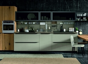 современная кухня 050а