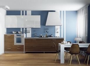 современная кухня 053а