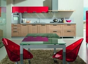 современная кухня 061а