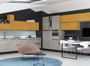 современная кухня 063а