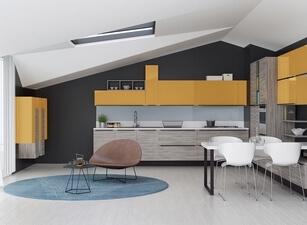 современная кухня 064а