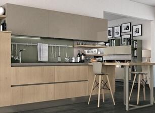 современная кухня 067а