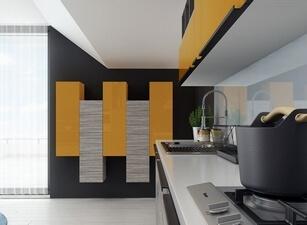 современная кухня 085а