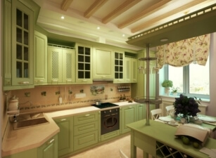 Кухня прованс 001а