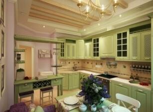 Кухня прованс 002а