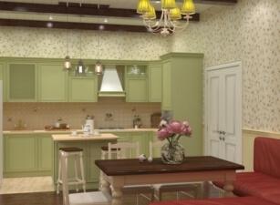 Кухня прованс 044а