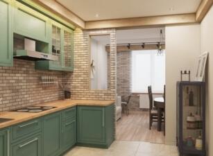 Кухня прованс 074а