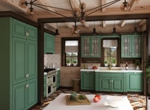 Кухня прованс 135а