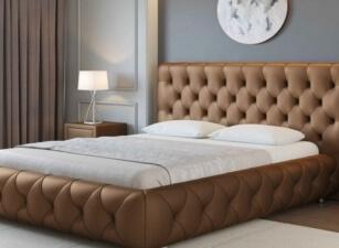 Мягкая кровать 005а