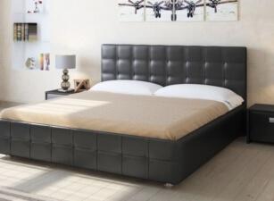 Мягкая кровать 008а