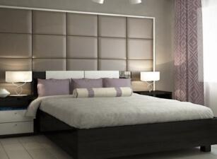 Мягкая кровать 010а