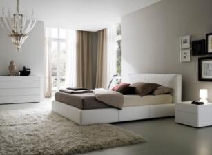 Мягкая кровать 016а
