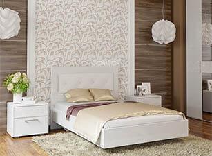 Мягкая кровать 023а