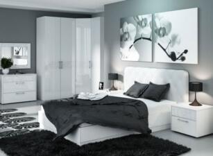Мягкая кровать 026а