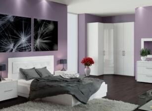Мягкая кровать 027а