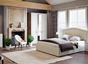 Мягкая кровать 030а
