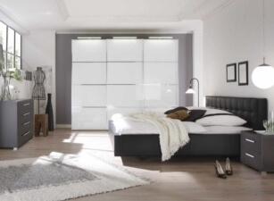 Мягкая кровать 031а