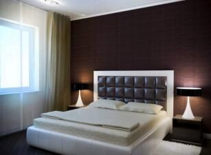 Мягкая кровать 032а