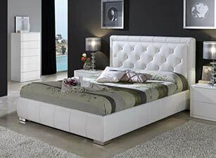 Мягкая кровать 018а