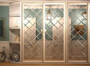 Зеркальный шкаф-купе 012а