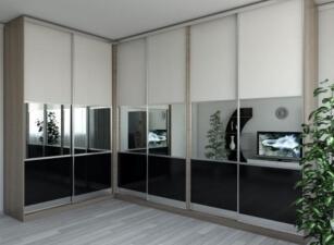 Зеркальный шкаф-купе 042а