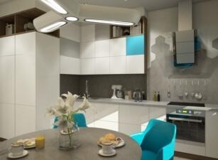 Кухня Современная Проект 057а