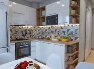 Кухня Современная Проект 098а