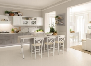 кухня неоклассика 017а
