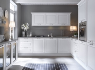 кухня неоклассика 047а