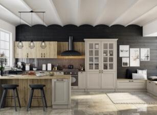 кухня неоклассика 048а