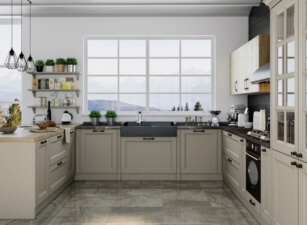 кухня неоклассика 050а