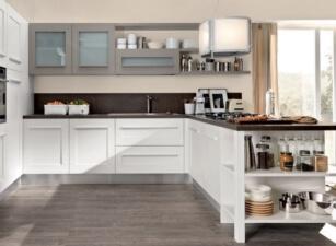 кухня неоклассика 055а