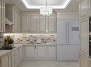 кухня неоклассика 056а